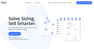 How To Create A Size Chart Solve Sizing Sell Smarter Size Ly