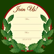 free printable christmas invitations templates printable christmas party clipart