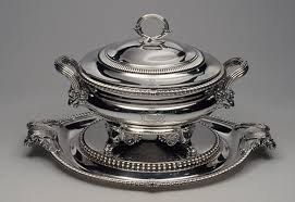 nineteenth century english silver  essay  heilbrunn timeline of  soup tureen with cover and stand