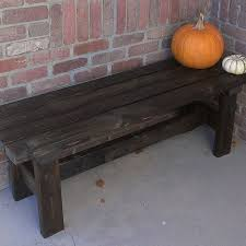 Remodelaholic  DIY Wood Chevron Bench With Box FramePlans For Building A Bench