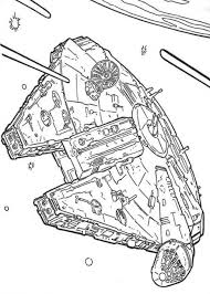 Star Wars Ships Coloring Pages For Kids Movie Coloring Pages