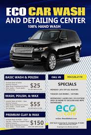 eco car wash and detailing center in c springs fl 100 hand wash