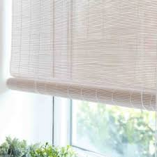 bamboo window blinds. White Matchstick Roll-up Blind Bamboo Window Blinds