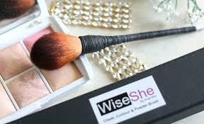 wiseshe cheek contour powder brush review wiseshe cheek contour and powder brush