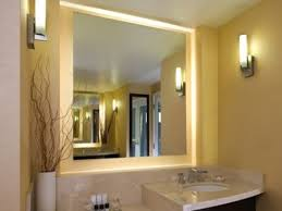 bathroom mirrors  best lighted bathroom mirror style home design