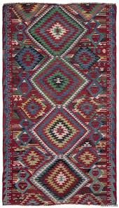 multicolor turkish vintage kilim rug 5 3 x 9 4 63 in x 112 in