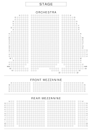 Lunt Fontanne Theatre Seating Chart View From Seat New