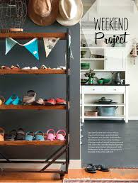 Weekend Project: Entryway Shoe Storage