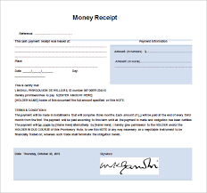 Payment Receipt Format In Word Money Receipt Template 100 Free Word Excel PDF Format Free 12