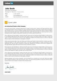 Linkedin cover letter 001