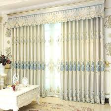 chenille blackout ds bedroom window curtains modern french door curtain embroidered valances whole from sill decorating