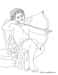 Small Picture Eros the greek god of love coloring pages Hellokidscom