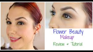 flower beauty makeup review tutorial you