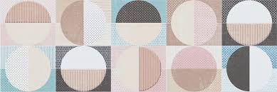<b>Cifre Cromatica</b> Dec Circles Cold Brillo 25x75 <b>керамическая плитка</b> ...