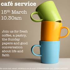 cafe church flyer st ives methodist church cambridgeshire cafe church flyer