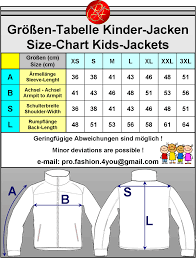 Power Pro Size Chart Bmw M Power Jacket Bmw Jacke Sold By Pro Fashion