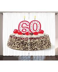 Dont Miss Memorial Day Sales On 60th Birthday Decorations Curtains