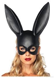 bar ktv makeup ball rabbit ear mask easter bunny costume party wear mask for lady ne780 masks party masks uk from annapine 3 22 dhgate