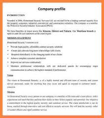 Company Profile Sample Stunning 44 Construction Company Profile Sample Doc Bussines Proposal 44 For