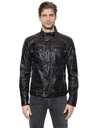 belstaff champion waxed cotton moto jacket black men clothing belstaff motorcycle jacket top brand whole