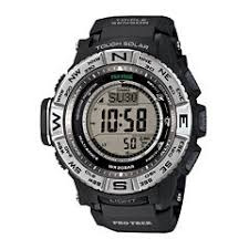 casio men s watches for jewelry watches jcpenney casio® pro trek triple sensor mens black resin solar sport watch prw3500 1cr