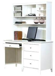 white desk office. White Desk With Drawers Office Computer Alluring