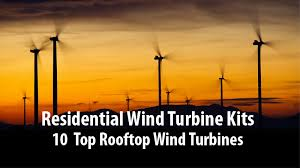 residential wind turbine kits