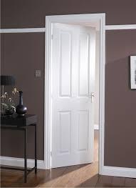 modern white interior door. Classic White Modern Interior Doors Door