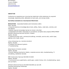 Electrician Resume Examples Interesting Journeyman Electrician Resume Sample Master And 48 Mhidglobalorg