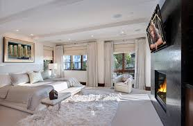 Area Rug On Carpet Pertaining To Bedroom Ideas Contemporary With Neutral 18