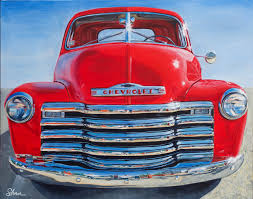 1951 Chevrolet Truck – Art by Shan