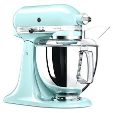 ice blue kitchenaid mixer. Kitchenaid Blue Mixer Colors With Glass Bowl . Ice