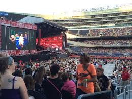 One Direction Soldier Field Seating Chart Soldier Field Section 140 Row 11 Seat 1 One Direction Tour
