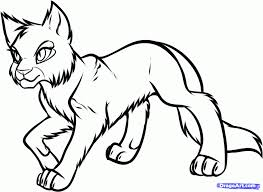 Small Picture Warrior Cats Coloring Pages fablesfromthefriendscom