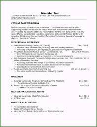 Home Health Care Job Description For Resume Patient Care Technician Job Description For Resume