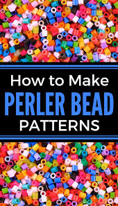 Bead Patterns Interesting Easy Perler Bead Pattern Maker Tutorial Krysanthe