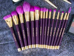 sonia kashuk limited edition brushes. on top of being pretty to look at, the brush tips are exceptionally soft (especially for synthetic fibers) and dense, so you can pack a lot product sonia kashuk limited edition brushes