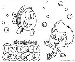 bubble guppies coloring pages tv film