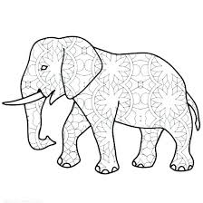 Coloring Pages For Kids Elephant Baby Elephant Coloring Pages For