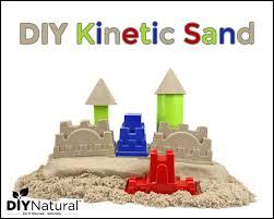 how to make diy kinetic sand