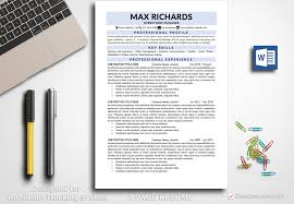 Resume Templates Free Download Resume Template Max Richards