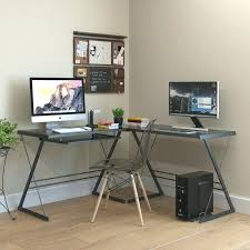 3 piece corner desk 3 piece corner l shaped computer desk walker edison soreno 3 piece