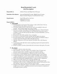 Tennis Instructor Resume Sample 24 Elegant How To Make A Coaching Resume Daphnemaia 23