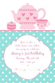 Kitchen Tea Invites Tea Party Invites Rebullidacom