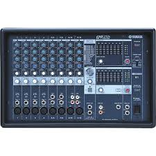 yamaha mixer. yamaha emx212s 12-channel powered mixer