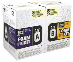 touch n seal spray foam insulation kit open cell fr 400452 diy kits