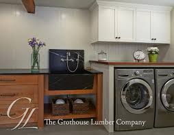 laundry room counter tops stunning african mahogany countertop for a in washington home ideas 3