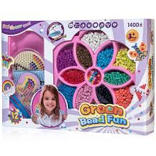 Amazon.com: Peachy Keen Crafts No Iron Fuse Bead <b>Kit</b> - Design ...