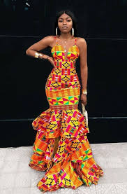 Nigeria Fashion Designer Clothes The Total Value Of These Toghu Print Can Finance A Village