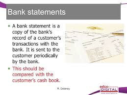 Bank Statements